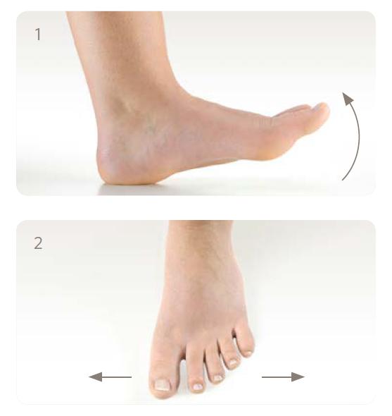 Aktive Fußübungen