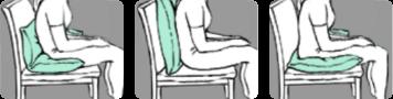 Lück Rhombo-fill Komfortkissen Schaubild