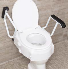 Toilettensitzerhöher mit Armlehnen   Russka