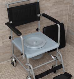 Toilettenstuhl, fahrbar   Russka