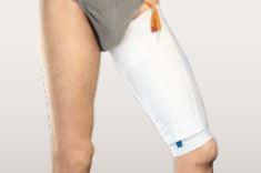 Urin-Beinbeutel-Halterung für den Oberschenkel   Russka