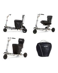 Kissen mit Tasche unter dem Sitz zu Mobilitätsroller ATTO
