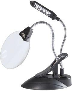 WEDO Tischlupe mit LED-Licht