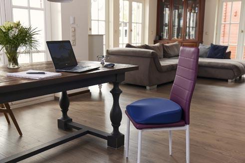 Büro Kissen Stuhl im Home-Office